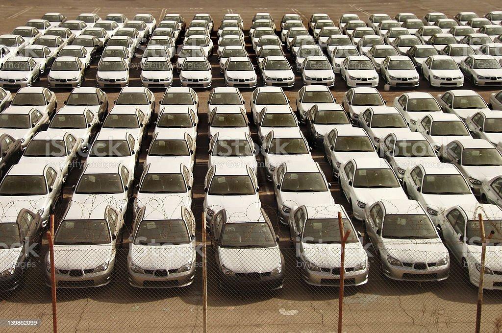 Cars royalty-free stock photo