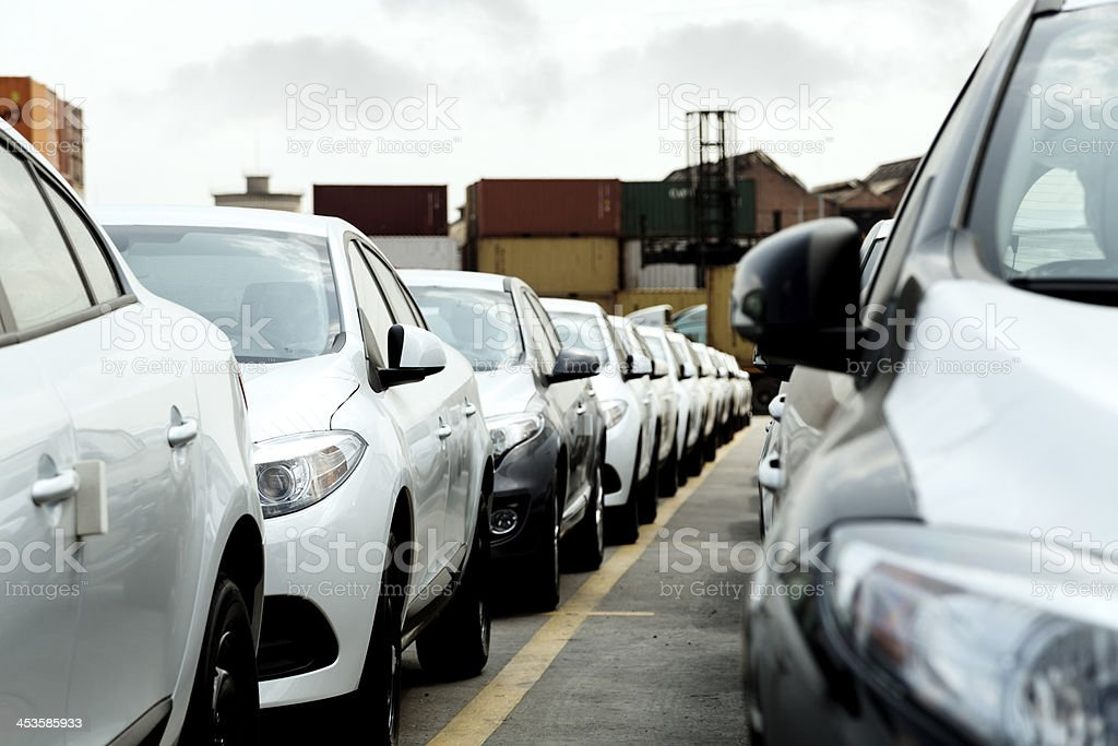 Cars royalty-free stock photo
