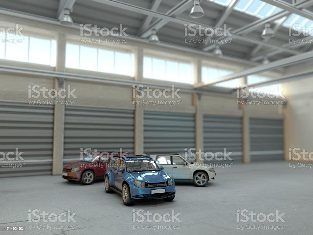 SUV Cars stock photo