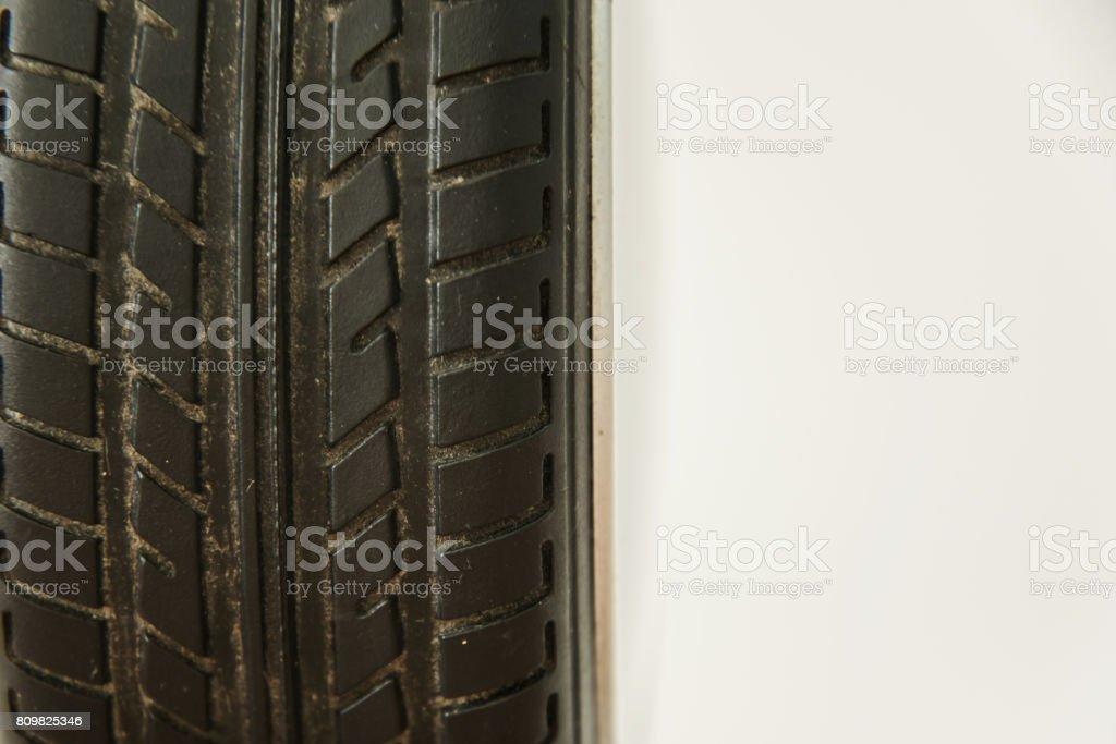 Car's tyre stock photo