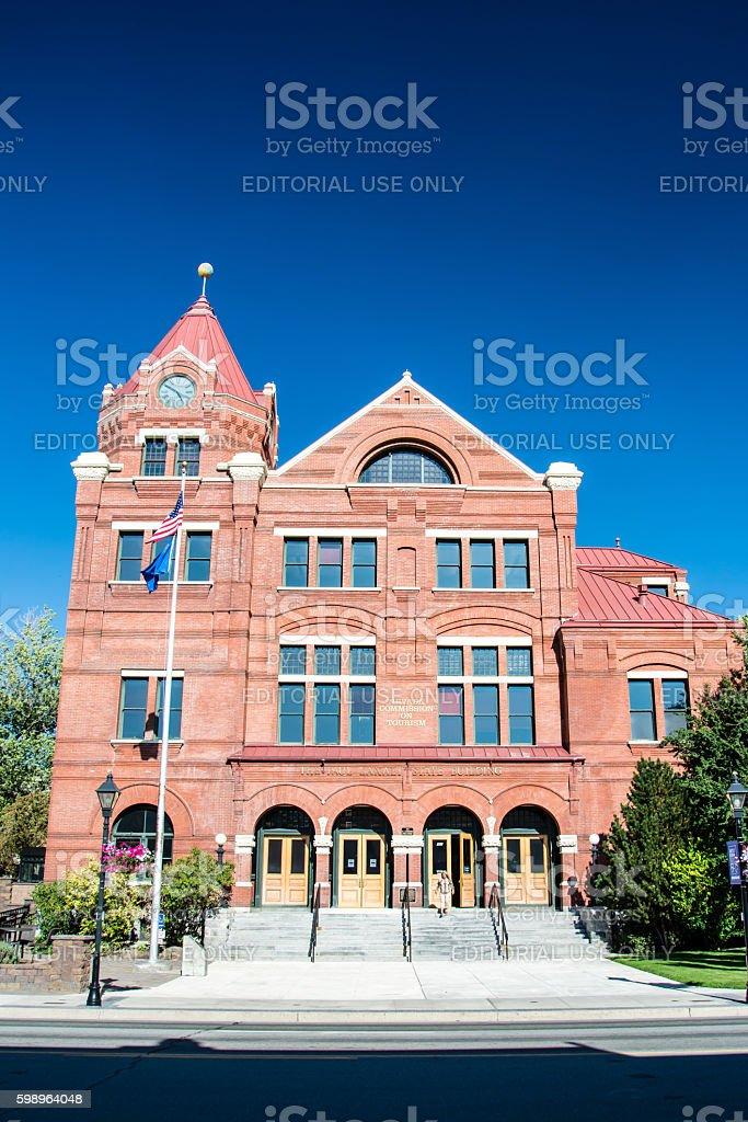 Carson City Nevada stock photo