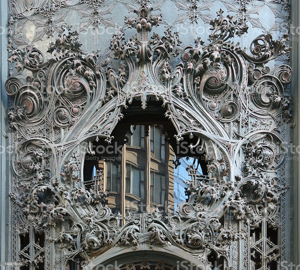 Carson Pirie Scott Building 04 royalty-free stock photo
