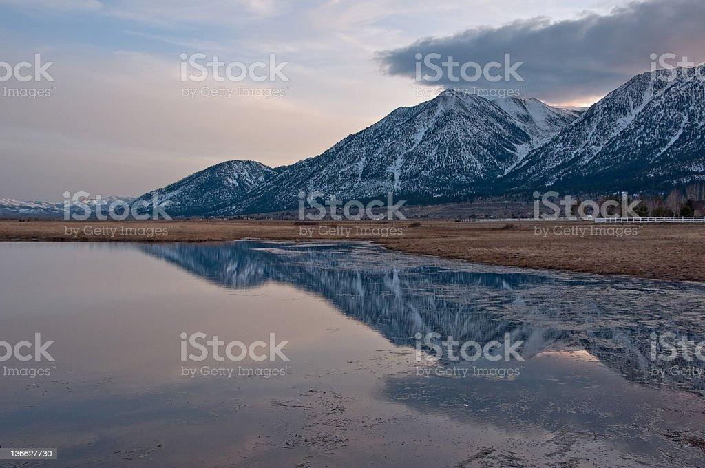 Carson Valley, Nevada stock photo