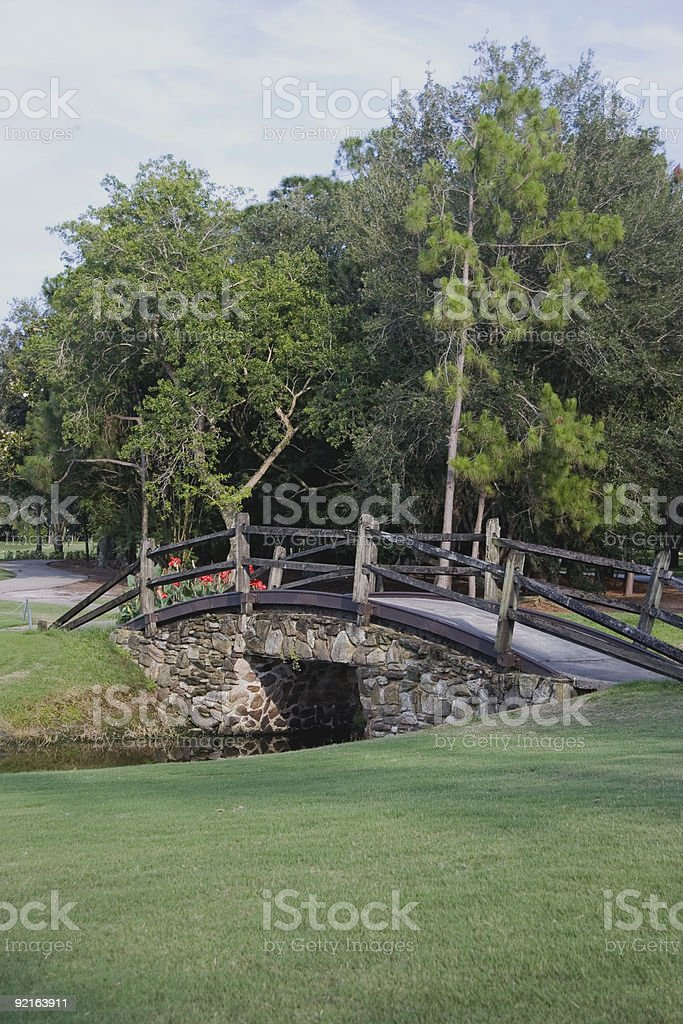 Cart Bridge royalty-free stock photo