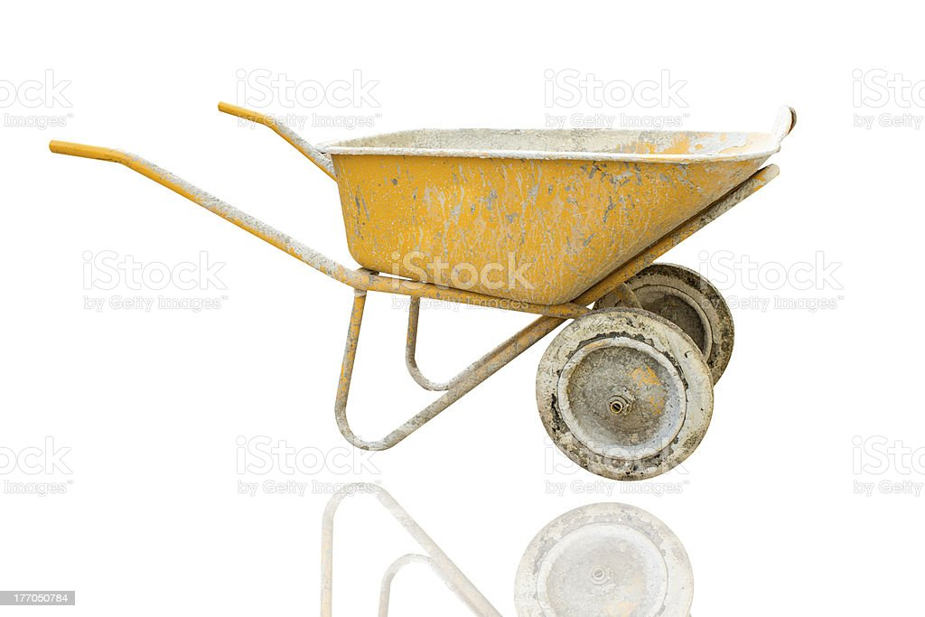 Cart mortar royalty-free stock photo