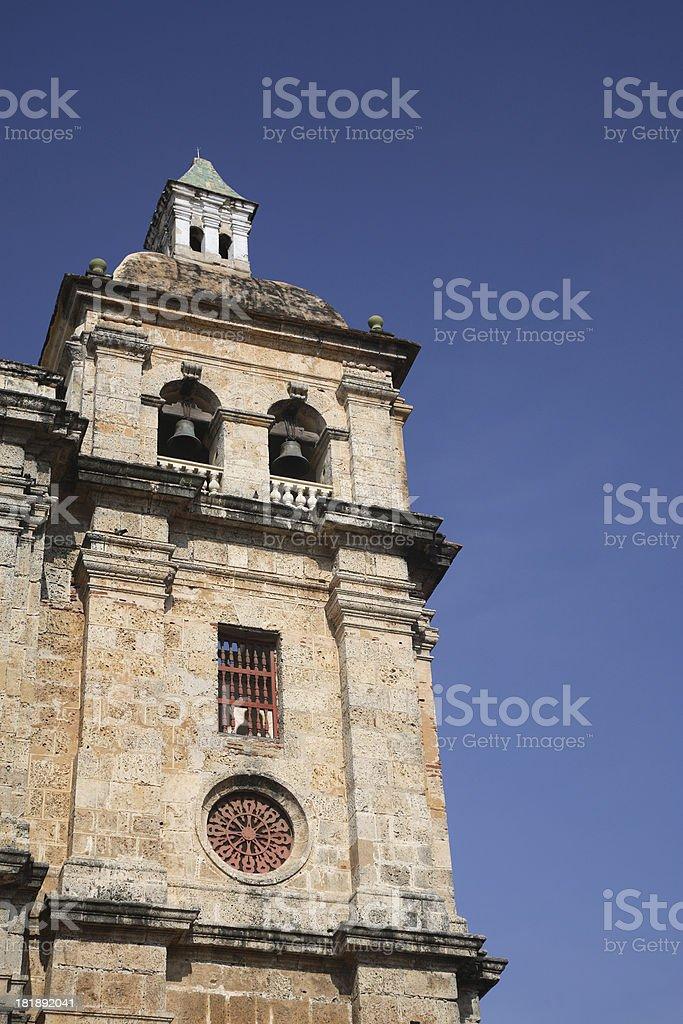 Cartagena: Church stock photo