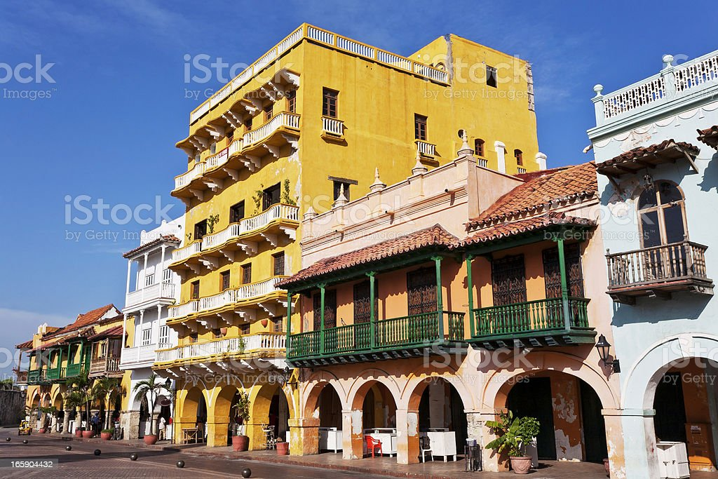 Cartagena, Colombia royalty-free stock photo