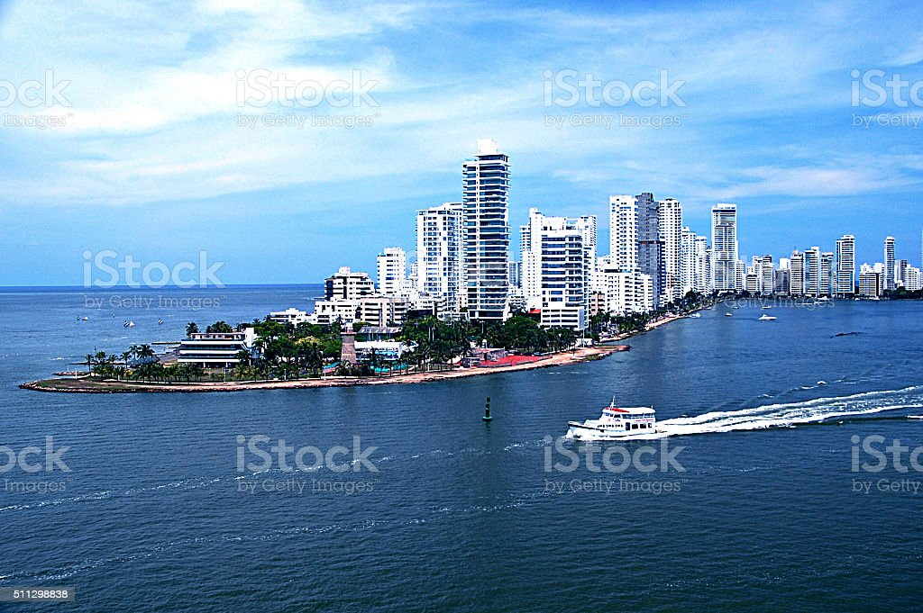 Cartagena- Colombia stock photo