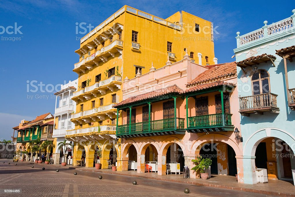 Cartagena, Colombia royalty-free stock photo