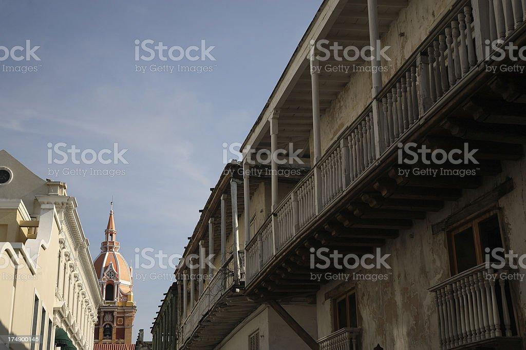 Cartagena: Old Town stock photo