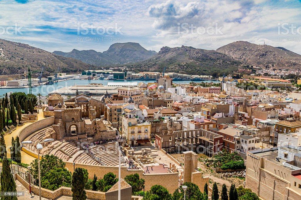 Cartagena, Spain stock photo