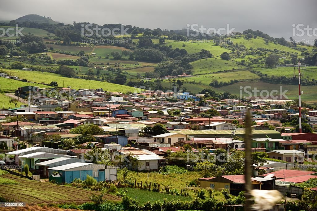 Cartago Country Side stock photo