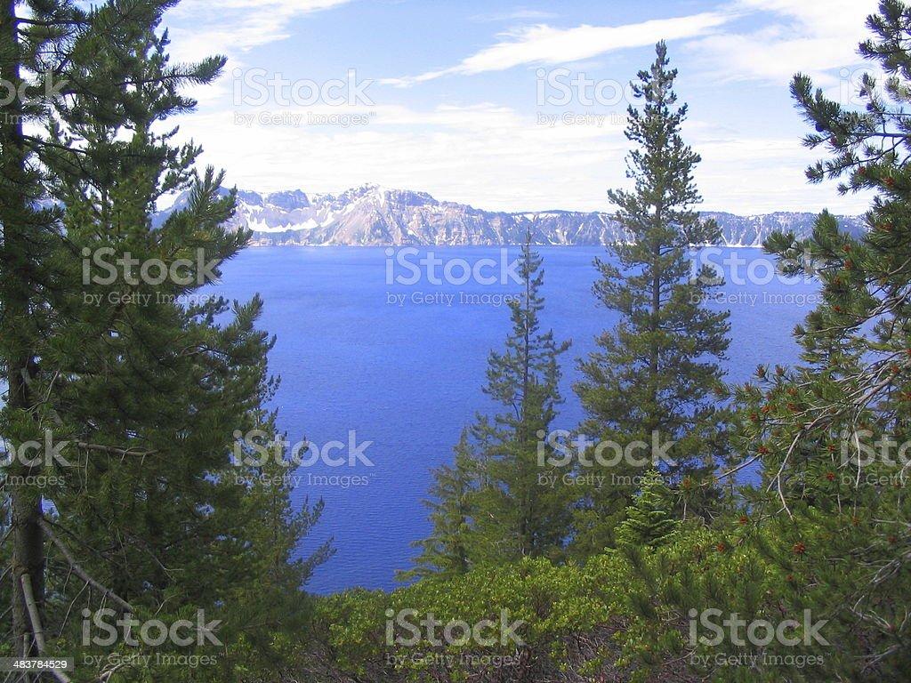 Carter Lake royalty-free stock photo