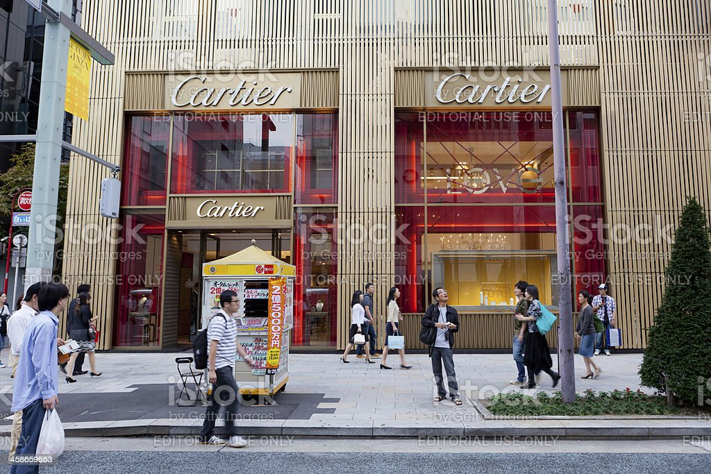 Cartier Flagship Store royalty-free stock photo