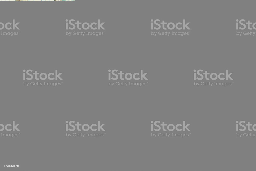 Cartography Map Olympic Mountain Topography stock photo