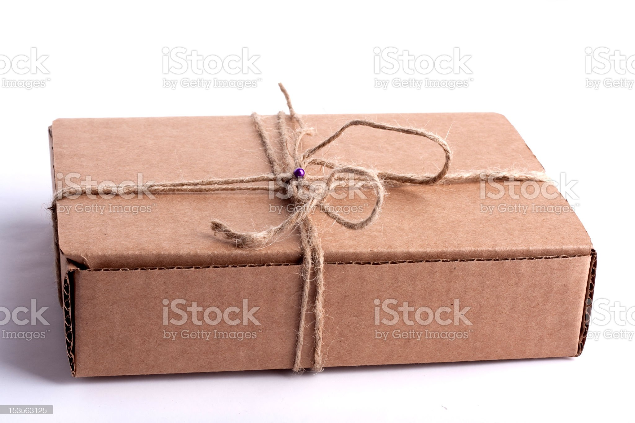 carton, cardboard, rope royalty-free stock photo