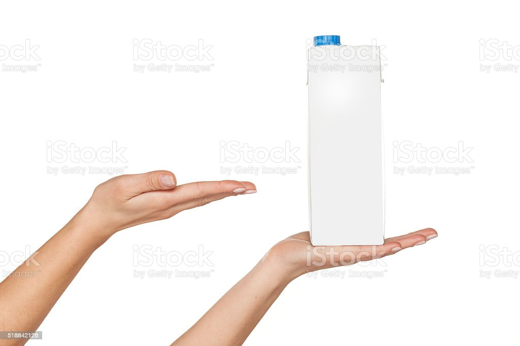 carton of milk stock photo