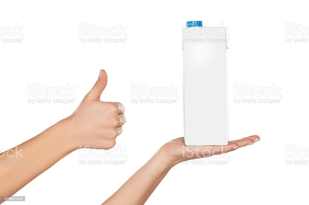 carton of milk stock photo