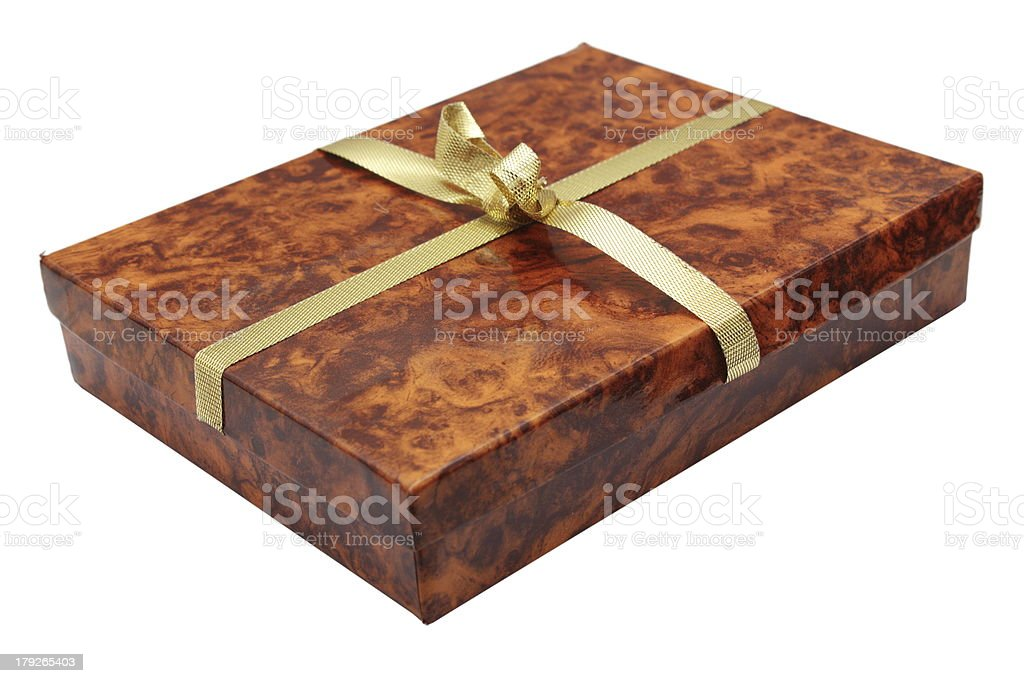 carton present box royalty-free stock photo