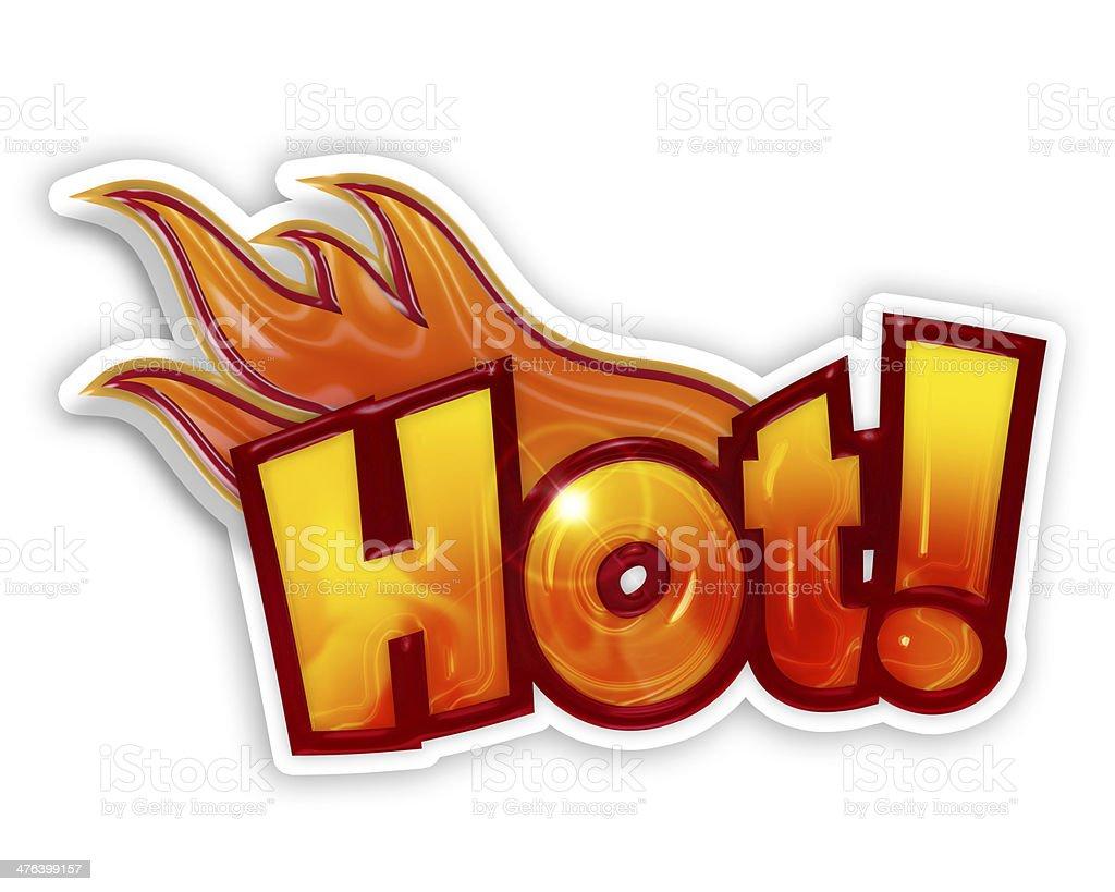 cartoon hot royalty-free stock photo
