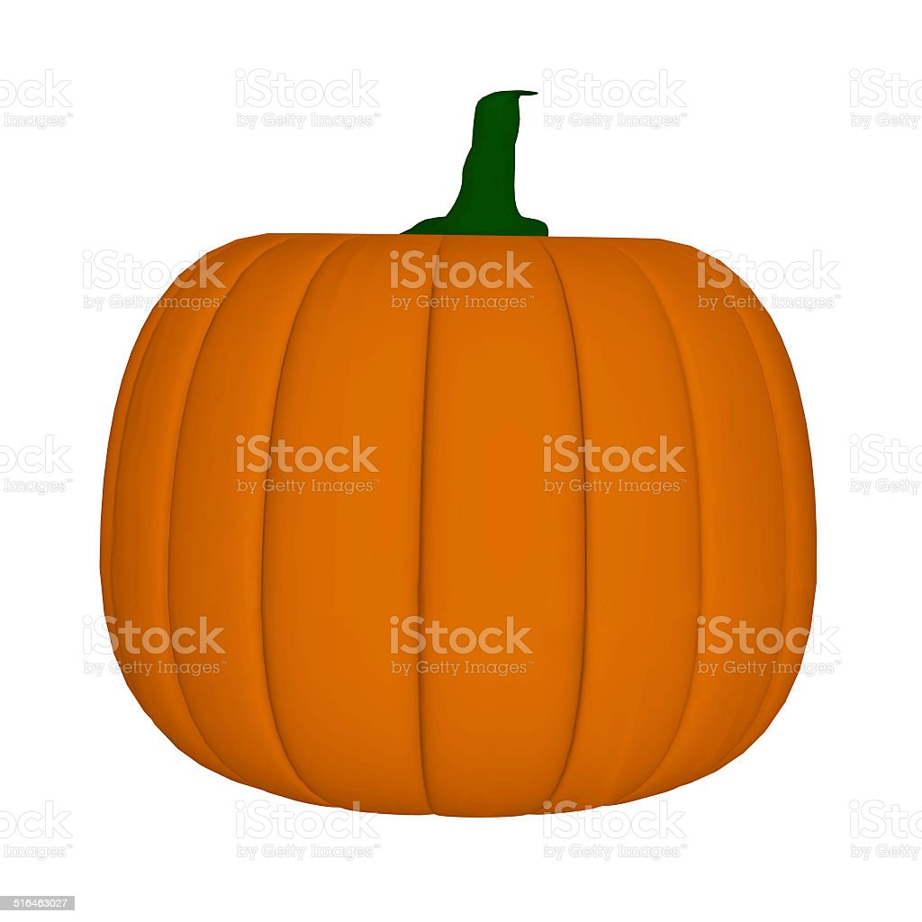 cartoon pumpkin stock photo