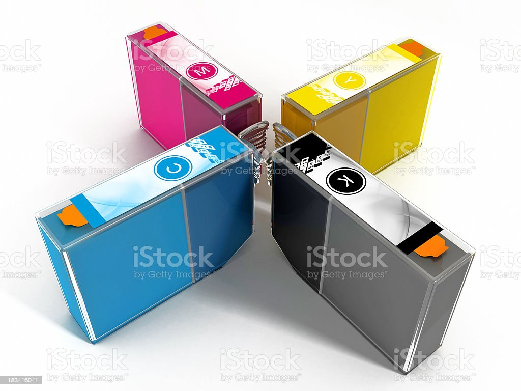 Cartridges royalty-free stock photo