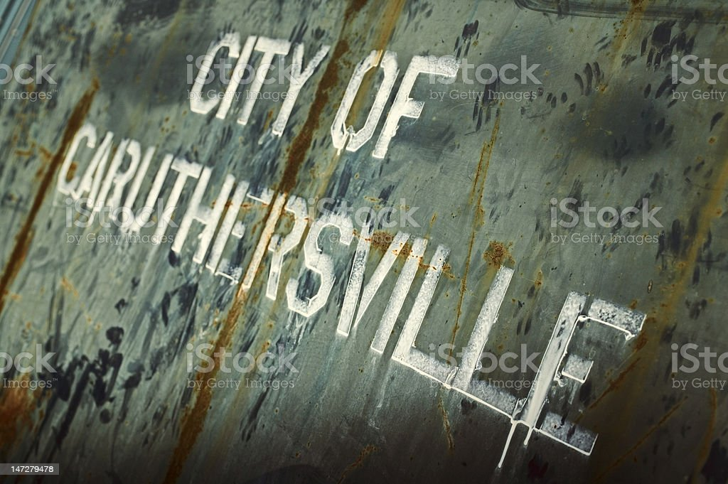 Caruthersville royalty-free stock photo