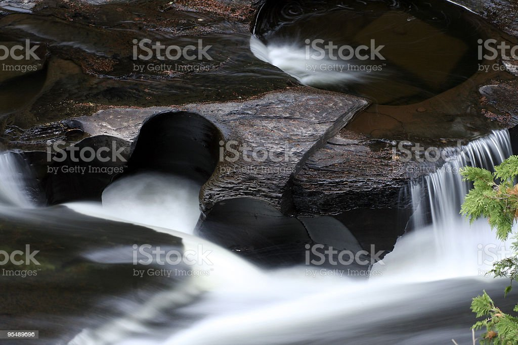 Carved by nature stock photo