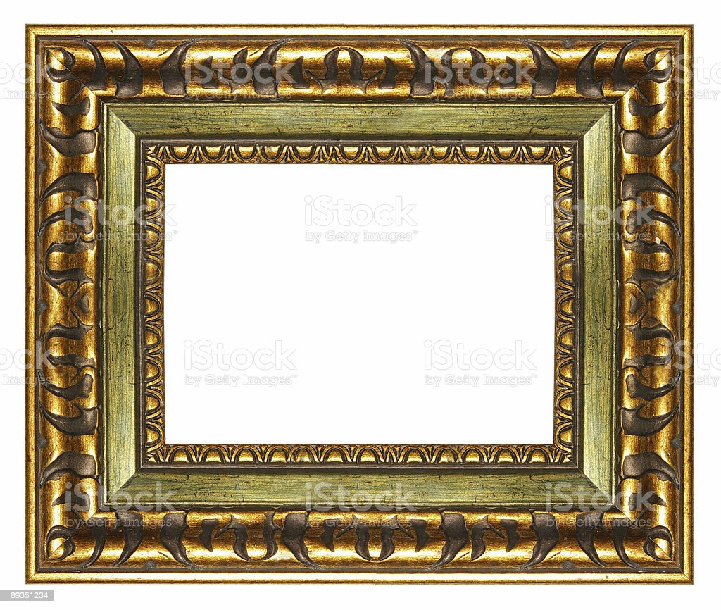 carved frame royalty-free stock photo