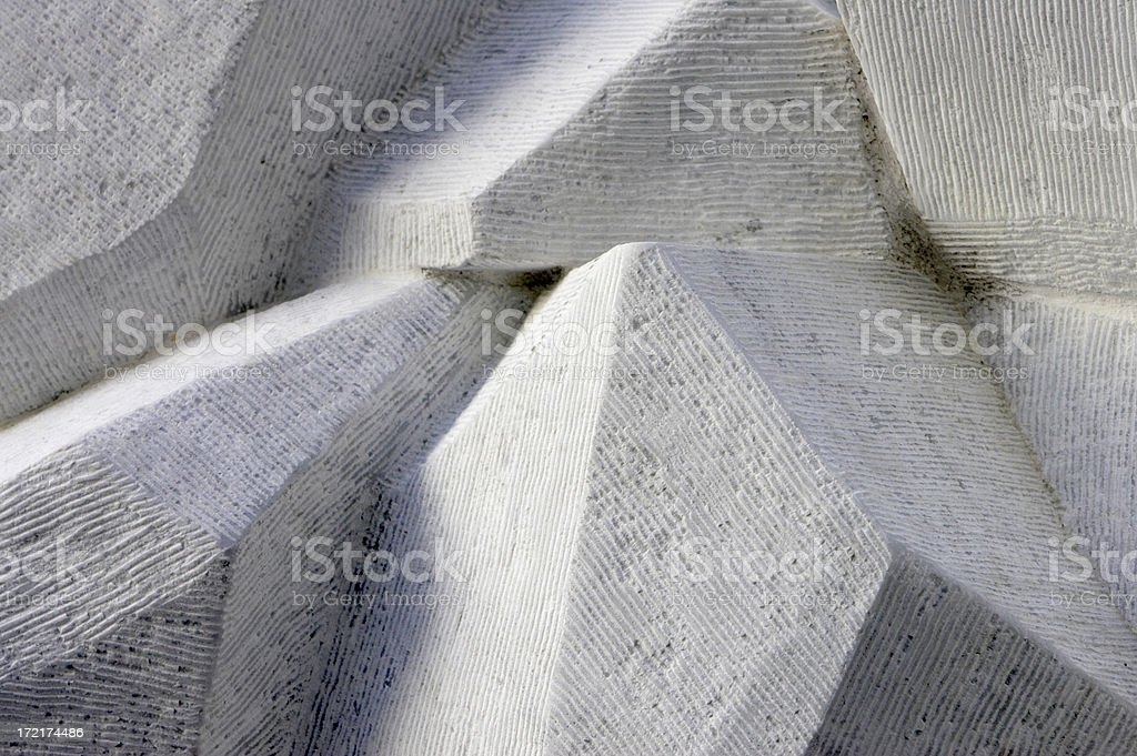 Carved Marble Texture stock photo