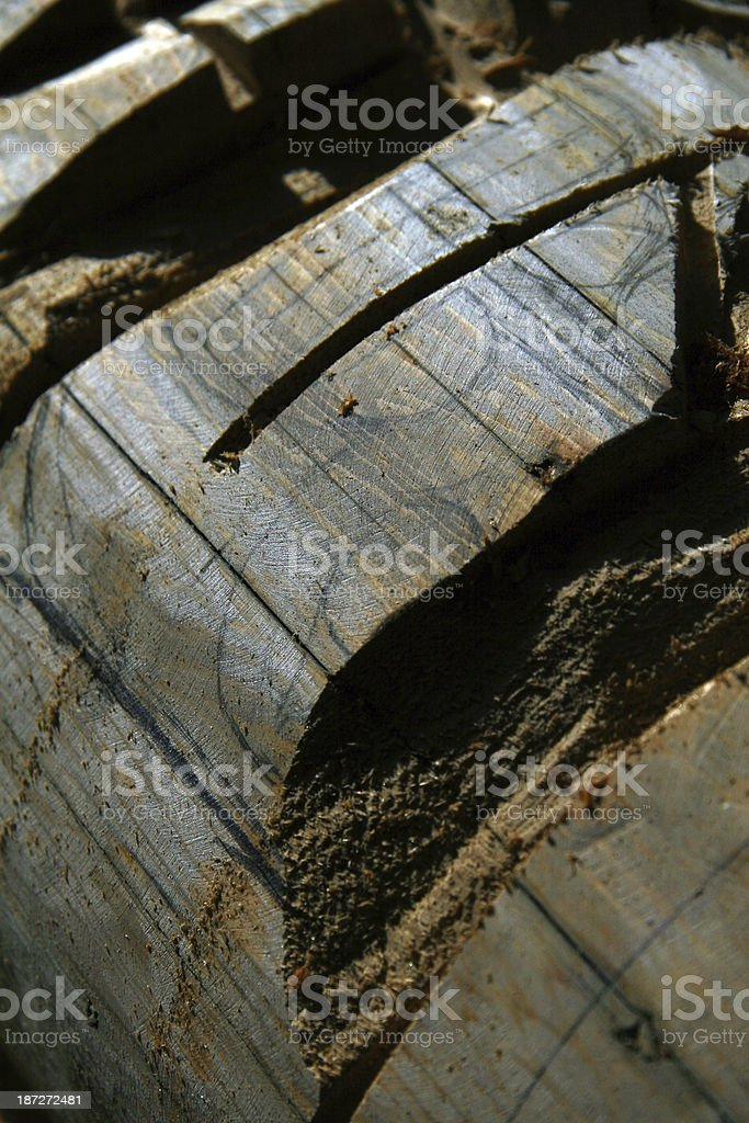 Carving royalty-free stock photo