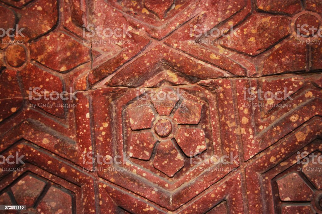 Carving stone texture stock photo