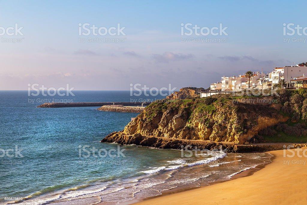 Carvoeiro in Algarve region, Portugal, Europe stock photo