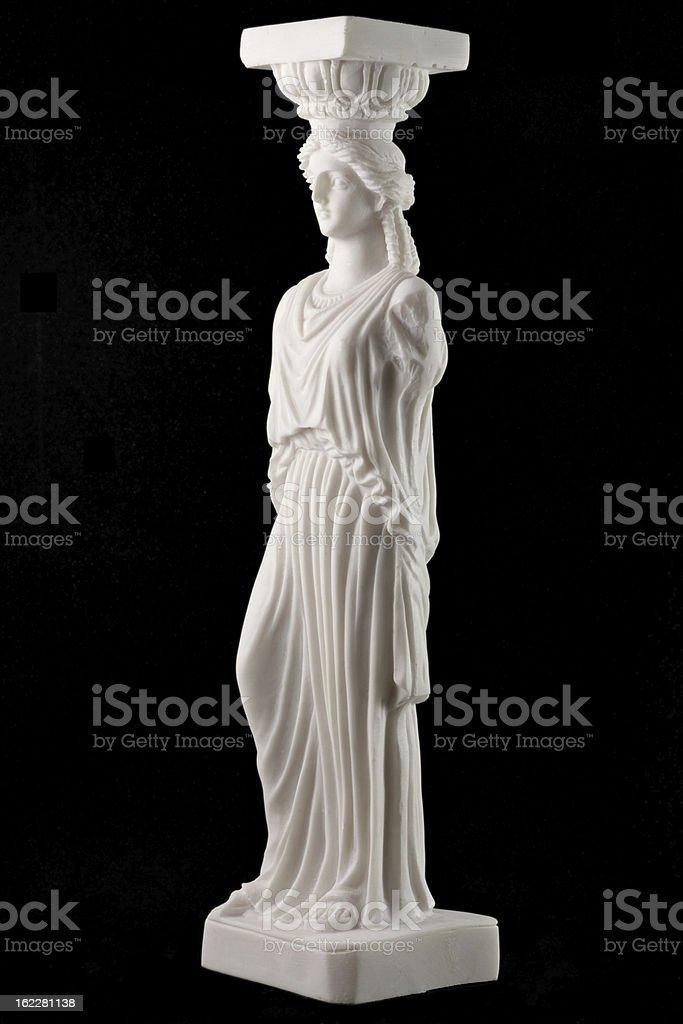 Caryatid royalty-free stock photo