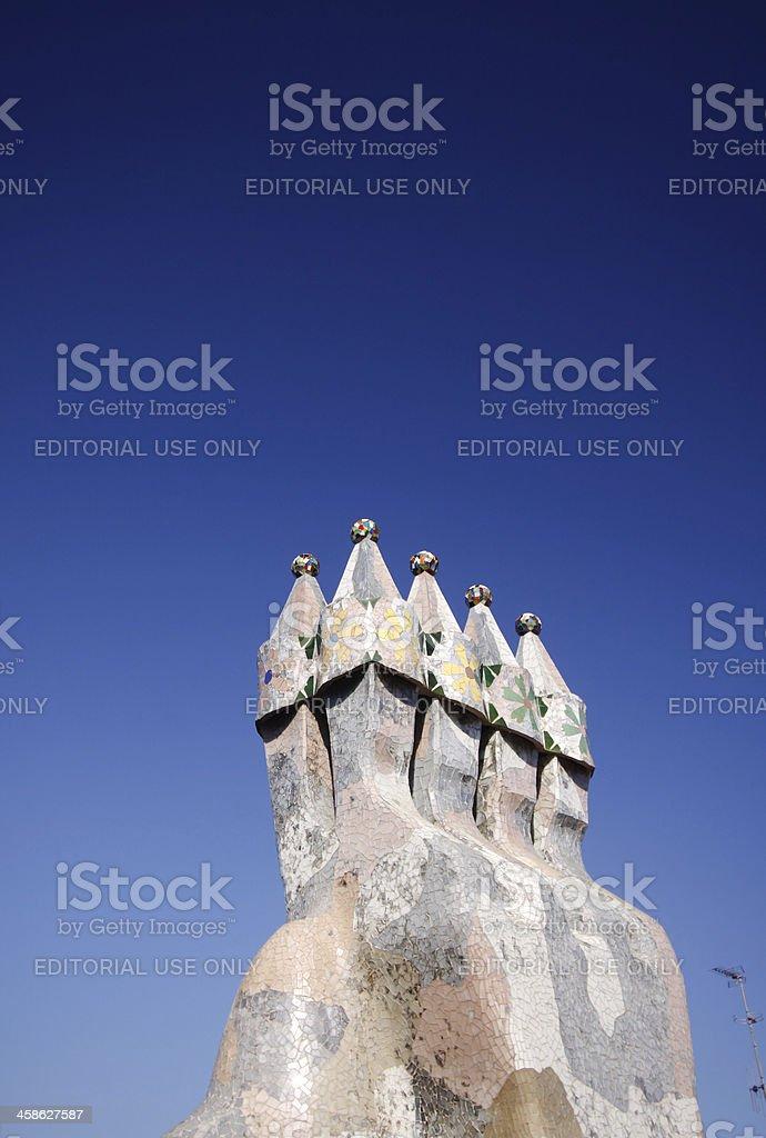 Casa Batlló in Barcelona, Spain royalty-free stock photo