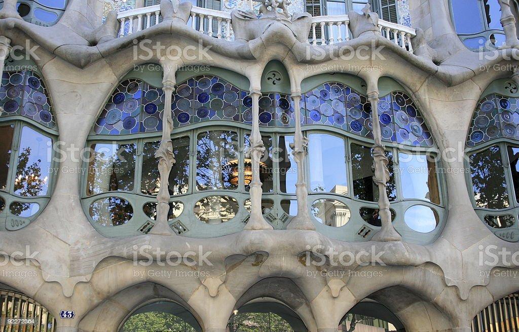 Casa Batllo : Barcelona royalty-free stock photo