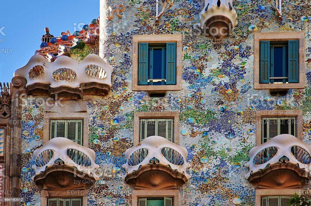 Casa Battló House stock photo