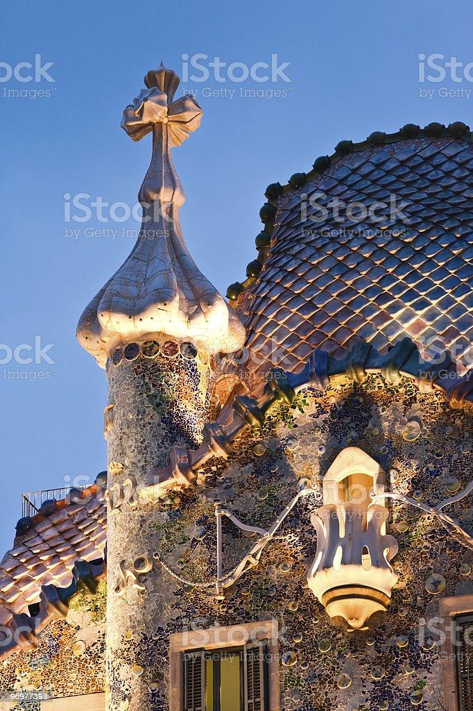 Casa Battlo royalty-free stock photo