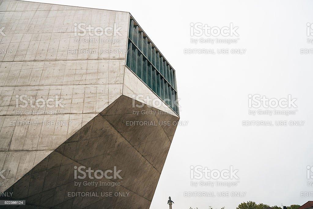 Casa da Musica in Porto stock photo
