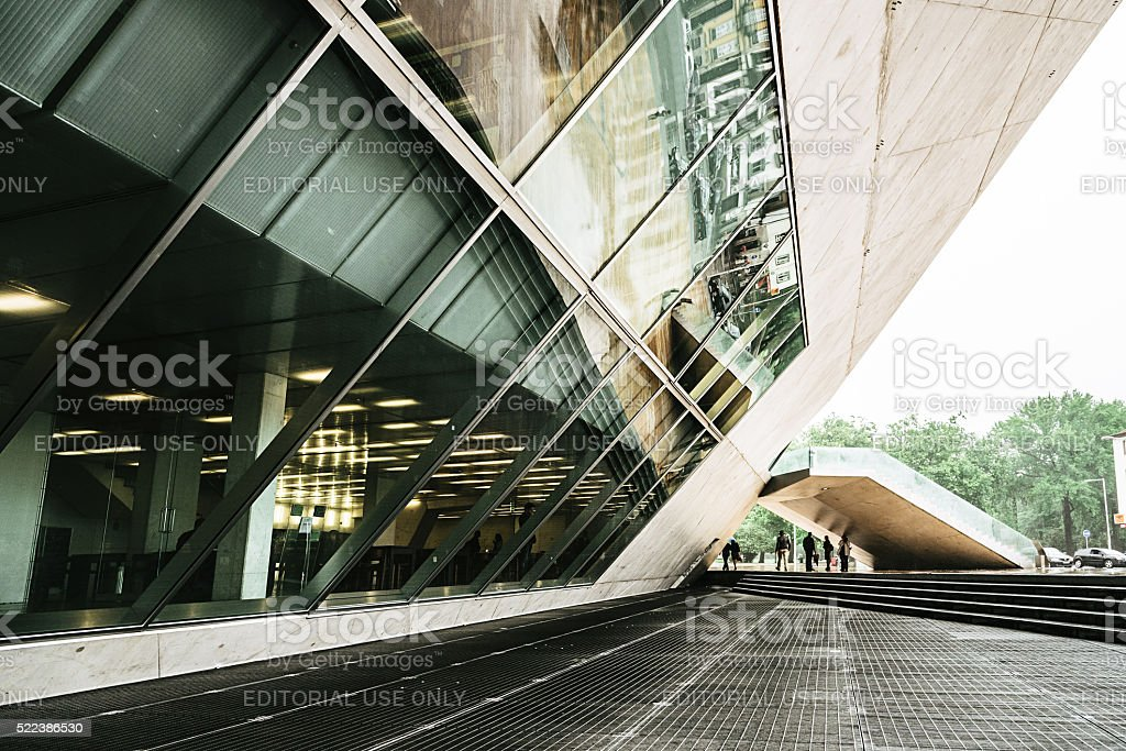 Casa da Musica in Porto stock photo