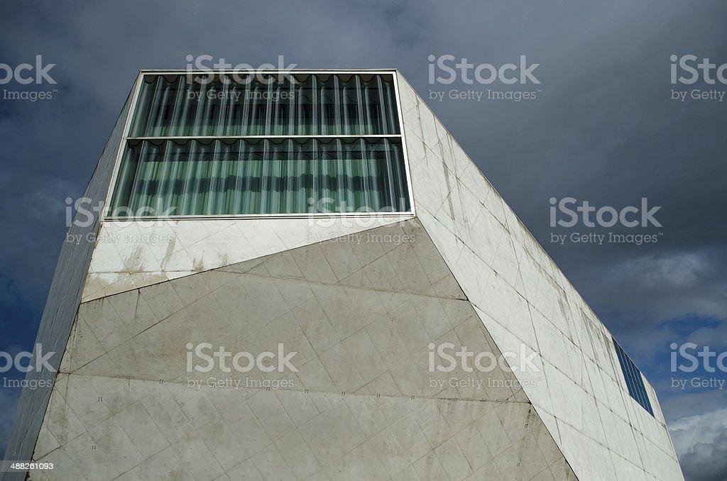 Casa da Musica stock photo