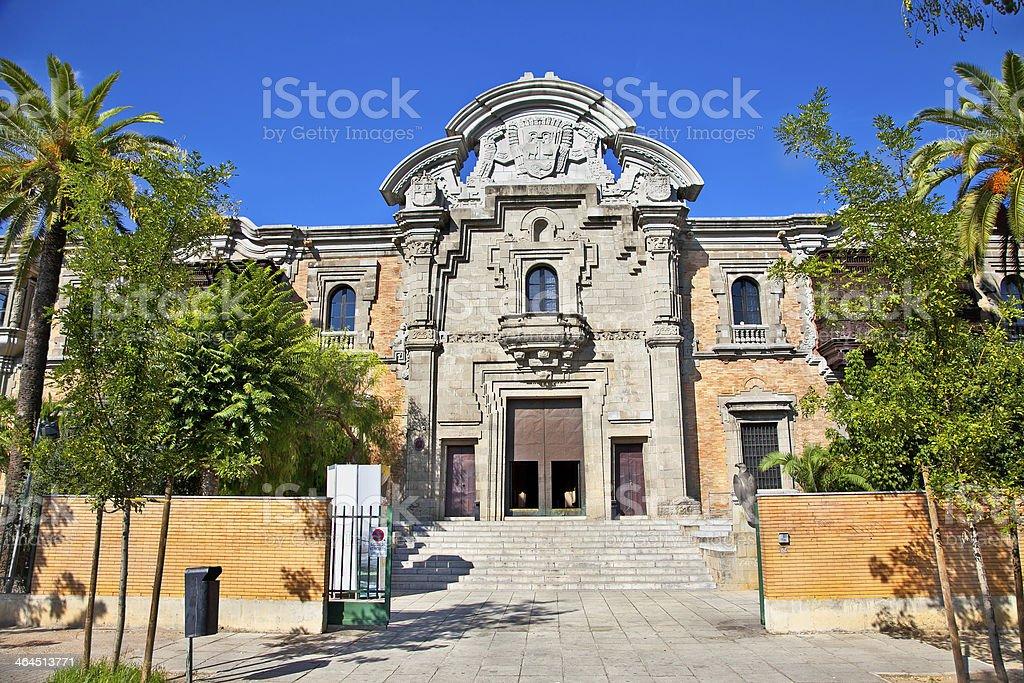 Casa de la Ciencia in Sevilla. Spain. stock photo