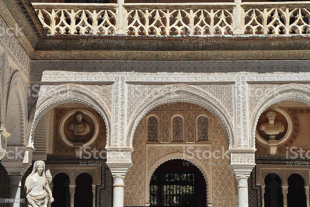 'Casa de Pilatos, Seville, Spain' stock photo