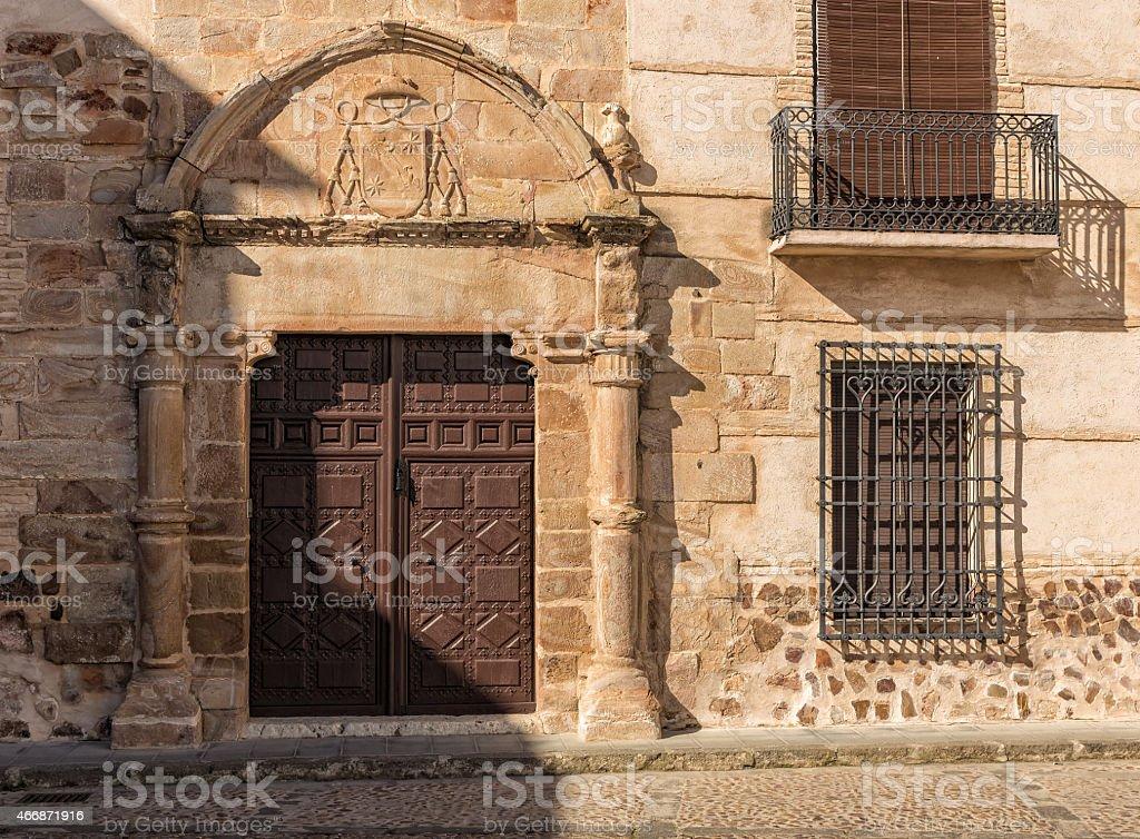 Casa del Capellan de las Bernardas stock photo