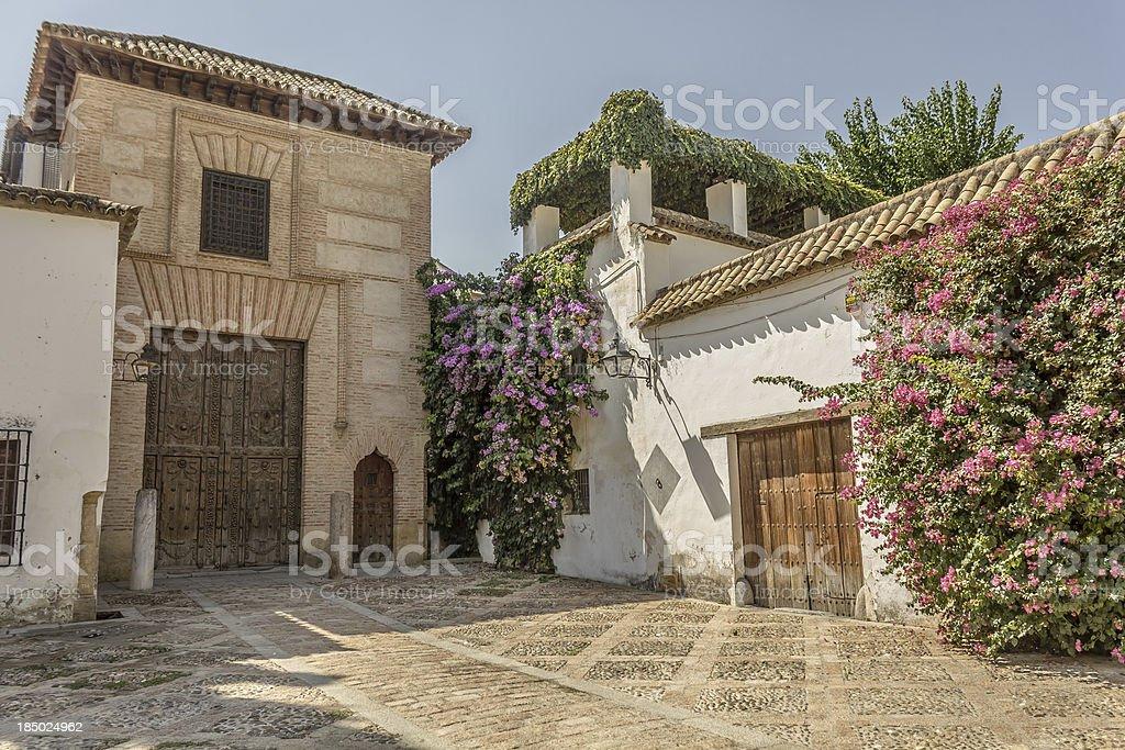 'Casa del Judío' in the Jewish quarter of Cordoba stock photo