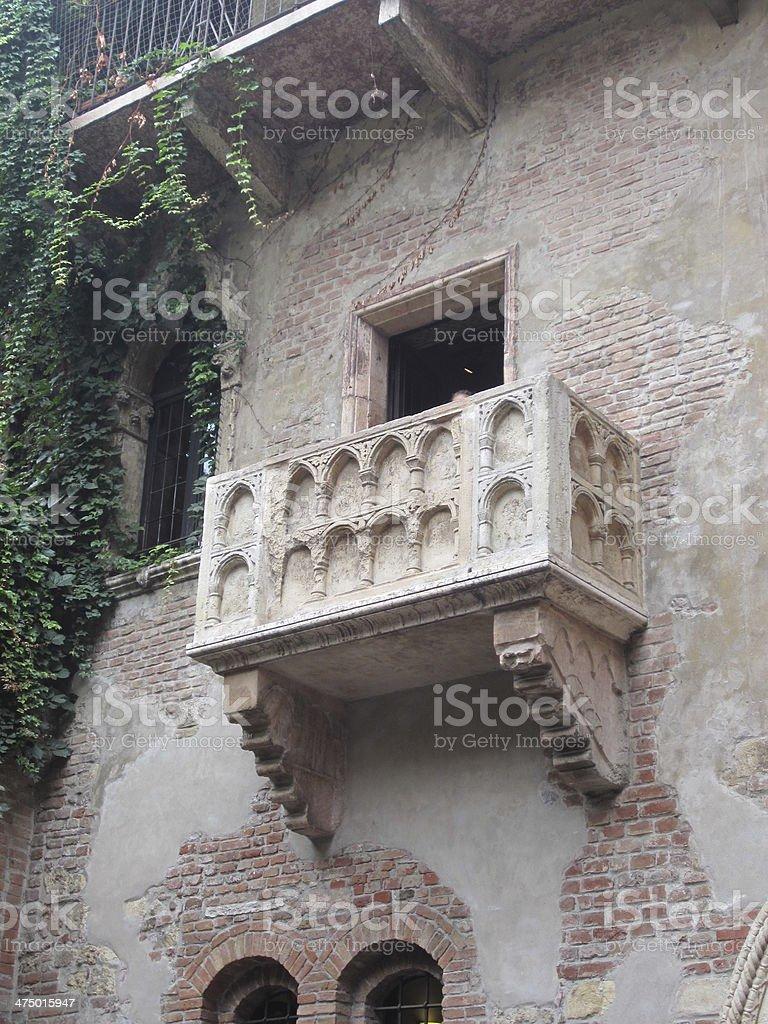 Casa di Giulietta royalty-free stock photo
