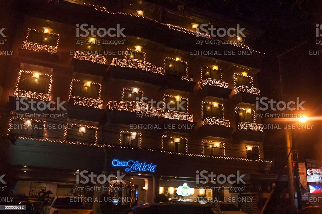 Casa Leticia Inn in Davao stock photo