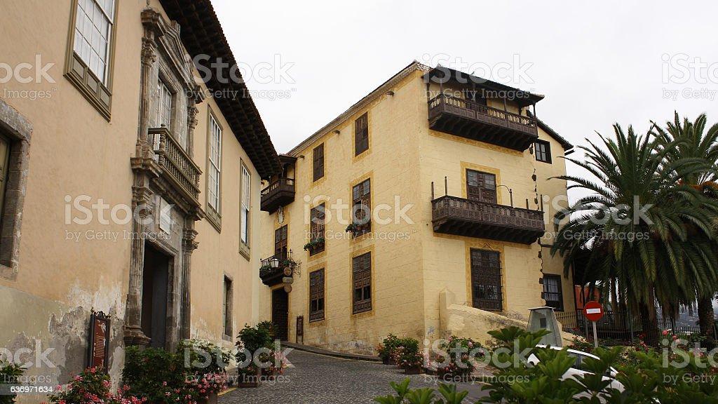 Casa Monteverde, Casa Ponte Fonte, La Orotava,Tenerife stock photo