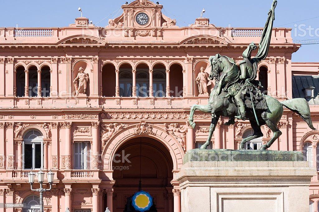 Casa Rosada, Buenos Aires, Argentina stock photo