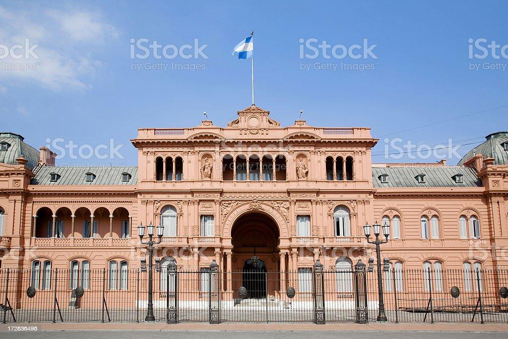 Casa Rosada, Buenos Aires, Argentina royalty-free stock photo